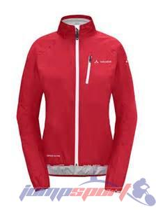 VAUDE Wo Drop Jacket II red