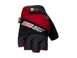 rukavice POLEDNIK SOFT GRIP red vel.S